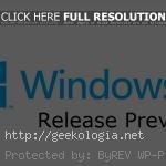 Windows 8 Release Preview podría estar disponible este viernes