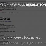 Google muestra letras de canciones en sus búsquedas