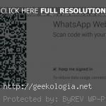 WhatsApp lanzó oficialmente su versión web